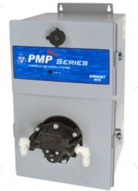 Knight PMPE-550V3.2 with EDP and Viton valve seals/diaphragm with bypass at 100 PSI (6.9 bar), 230V, 0-3.1 gpm (0-11.6 LPM)
