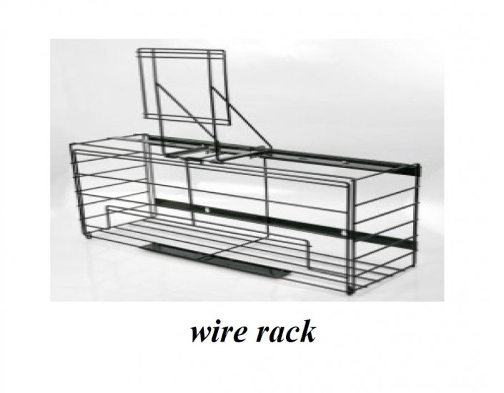 Knight KP1H Locking wire rack for one 1 gallon bottle - Click Image to Close