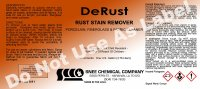 DeRust Rust Stain Remover - 5 gal Pail