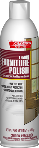 Lemon Furniture Polish - Click Image to Close