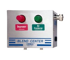 DEMA 681 Blend Center Single Station Stainless Steel Cabinet (4 GPM) - Click Image to Close