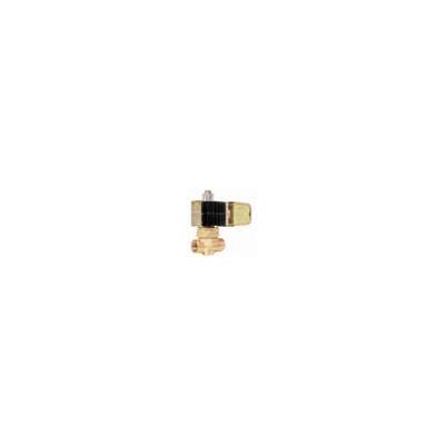 "DEMA Brass Normally Open Pilot Operated Piston High Pressure Solenoid Valve, Stainless Steel Piston, 3/8"" NPT, 0.350"" Orifice Di - Click Image to Close"