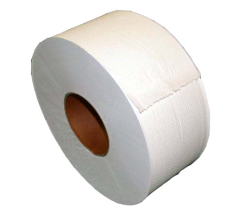 "9"" Junior Jumbo Toilet Paper - 2 Ply, 3.4"" Core - Click Image to Close"