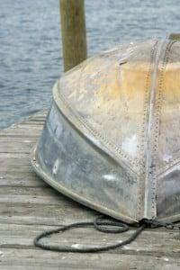 Aluminum Rowboat